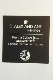 "Alex and Ani Alex And Ani ""Godmother"" Expandable Bangle - Front full body"