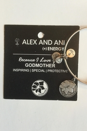 "Alex and Ani Alex And Ani ""Godmother"" Expandable Bangle - Back cropped"