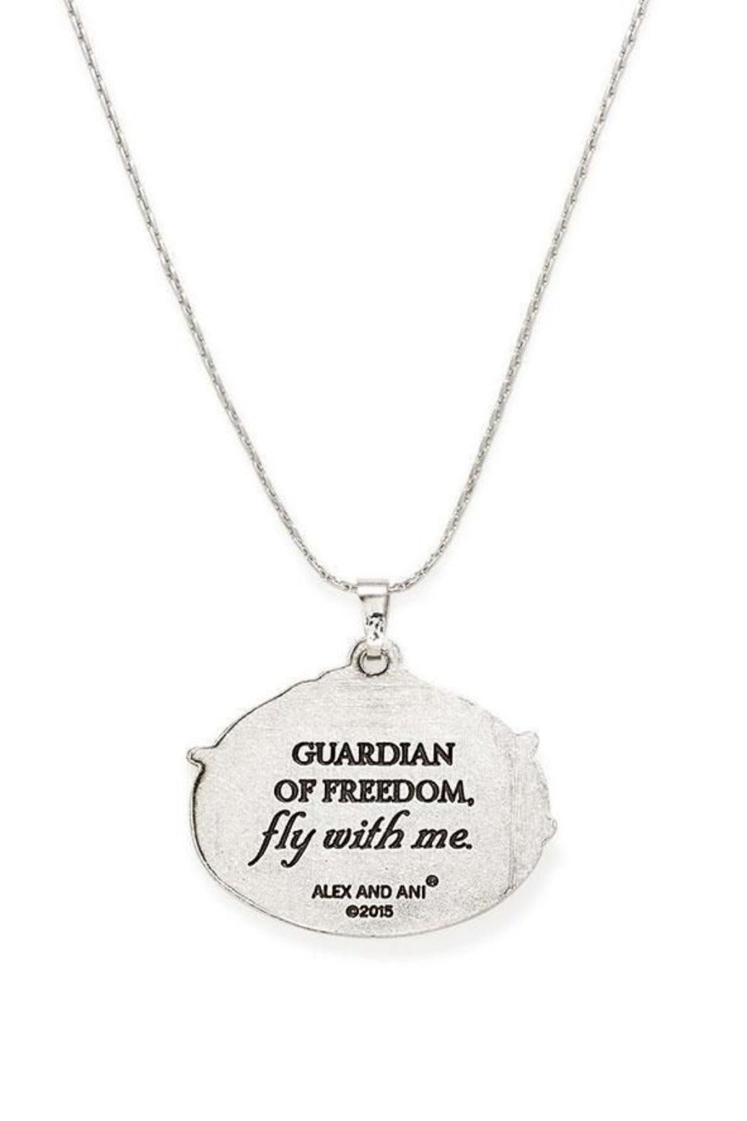 """Alex and Ani Alex And Ani """"Guardian Of Freedom"""" Necklace - Front Full Image"""