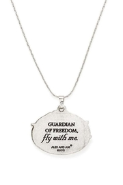 """Alex and Ani Alex And Ani """"Guardian Of Freedom"""" Necklace - Front full body"""