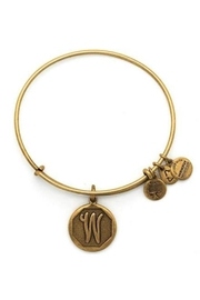 """Alex and Ani Alex And Ani Initial """"W"""" Bracelet - Front cropped"""