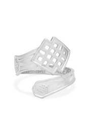 "Alex and Ani Alex And Ani ""Endless Knot"" Sterling Silver Ring - Product Mini Image"