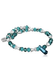 Alex and Ani Alex And Ani Turquoise Retro Glam Wrap Bracelet - Product Mini Image