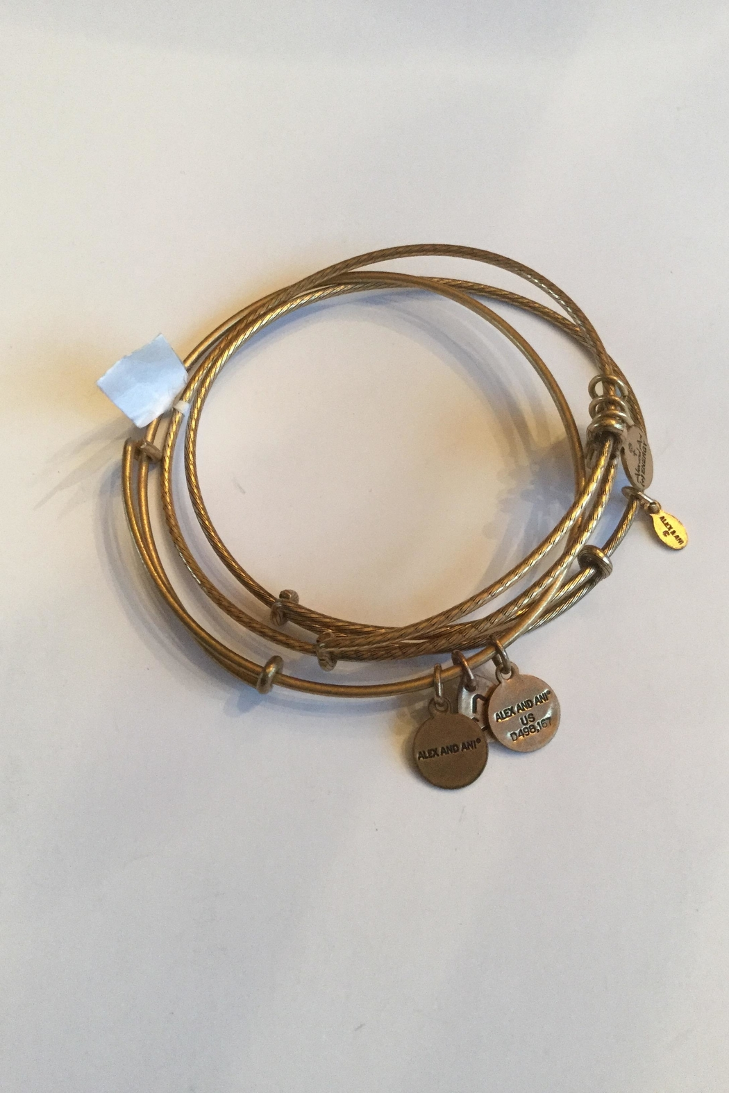 """Alex and Ani Alex And Ani """"Set Of 3"""" Expandable Bangles - Front Full Image"""