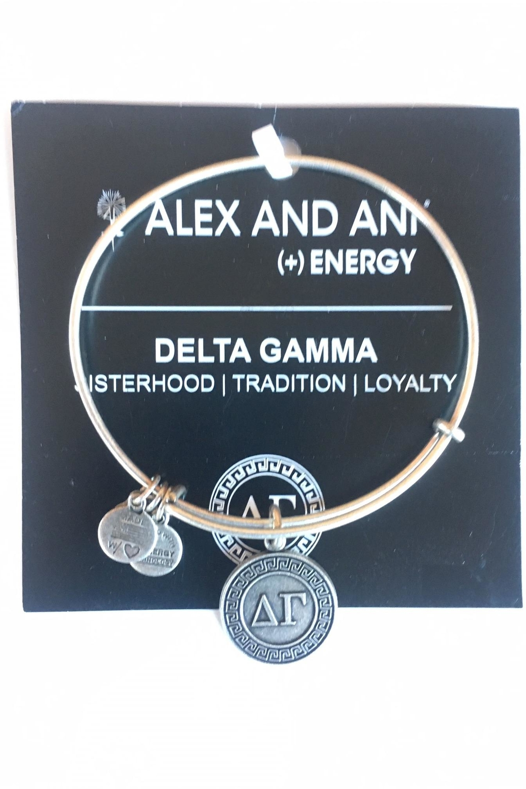 """Alex and Ani Alex And Ani Sorority """"Delta Gamma"""" Bracelet - Front Cropped Image"""
