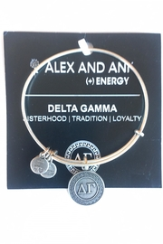 """Alex and Ani Alex And Ani Sorority """"Delta Gamma"""" Bracelet - Front cropped"""