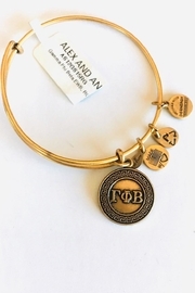 "Alex and Ani Alex And Ani Sorority ""Gamma Phi Beta"" Bracelet - Product Mini Image"