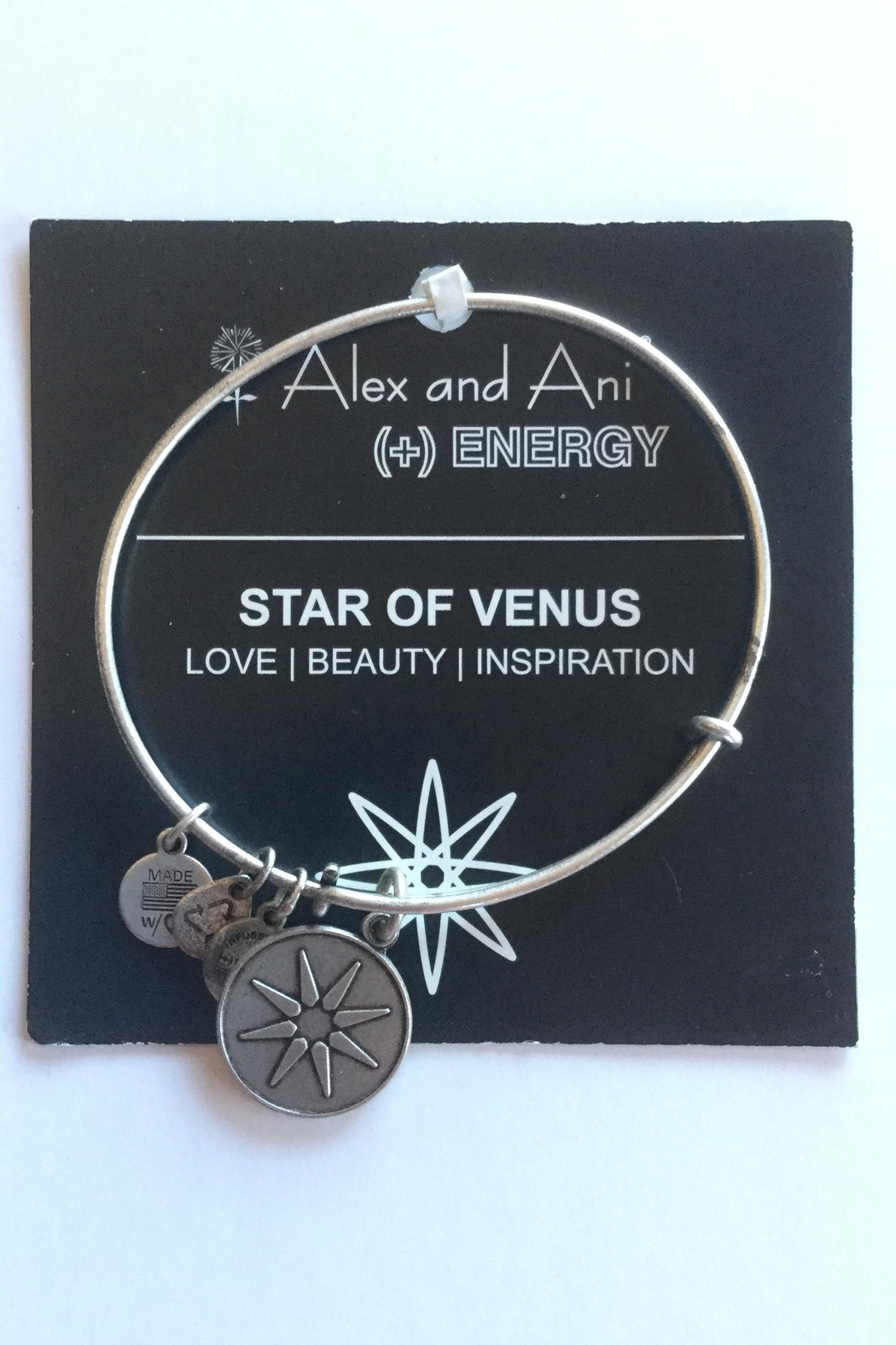 """Alex and Ani Alex And Ani """"Star Of Venus"""" Bangle - Front Cropped Image"""