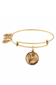 "Alex and Ani Alex And Ani Zodiac ""Pisces"" Expandable Bangle - Alternate List Image"