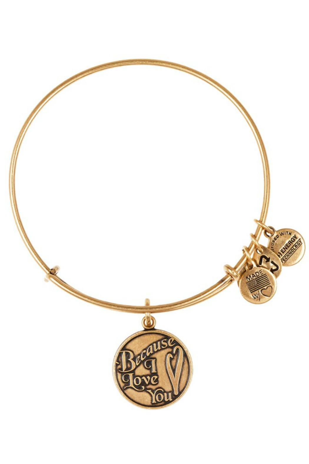 Alex And Ani Because I Love You Bracelet Front Cropped Image