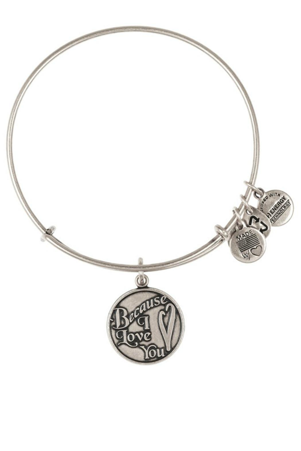 """Alex and Ani Alex And Ani """"Because I Love You"""" Bangle - Front Cropped Image"""