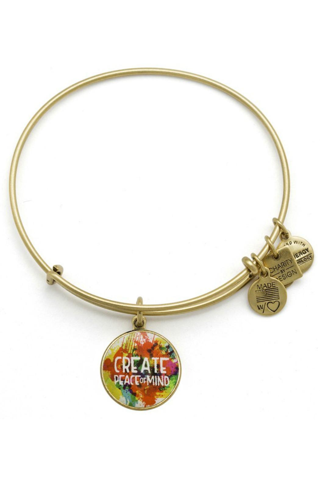 Alex and Ani Peace Of Mind Bangle - Front Cropped Image