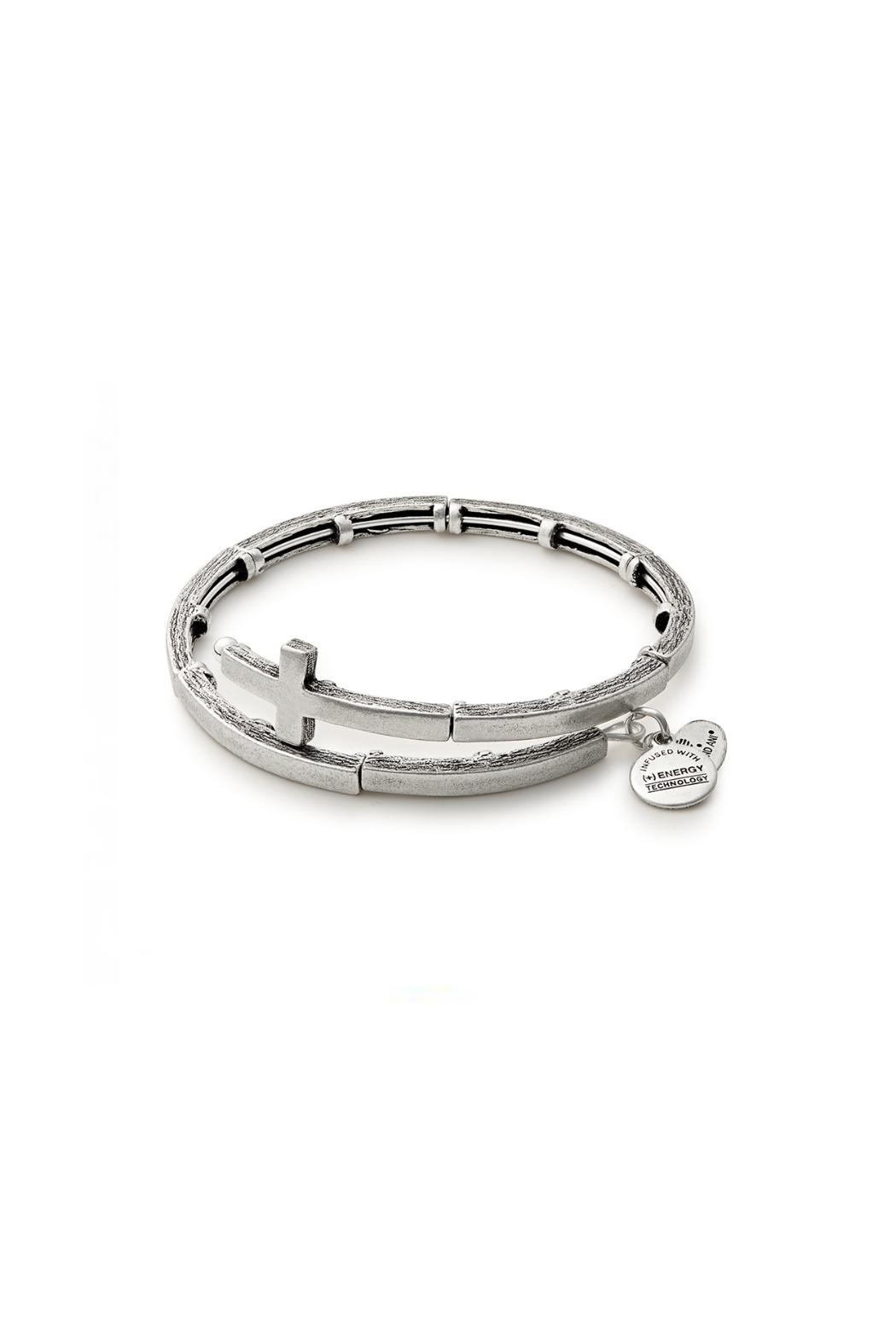Alex And Ani Cross Wrap Bracelet Front Cropped Image