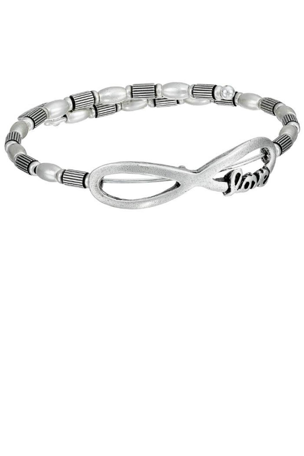 Alex and Ani Infinity Love Wrap - Front Cropped Image