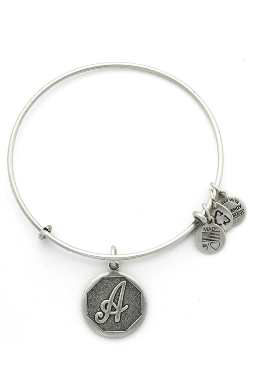Alex and Ani Initial A Bracelet - Front Cropped Image