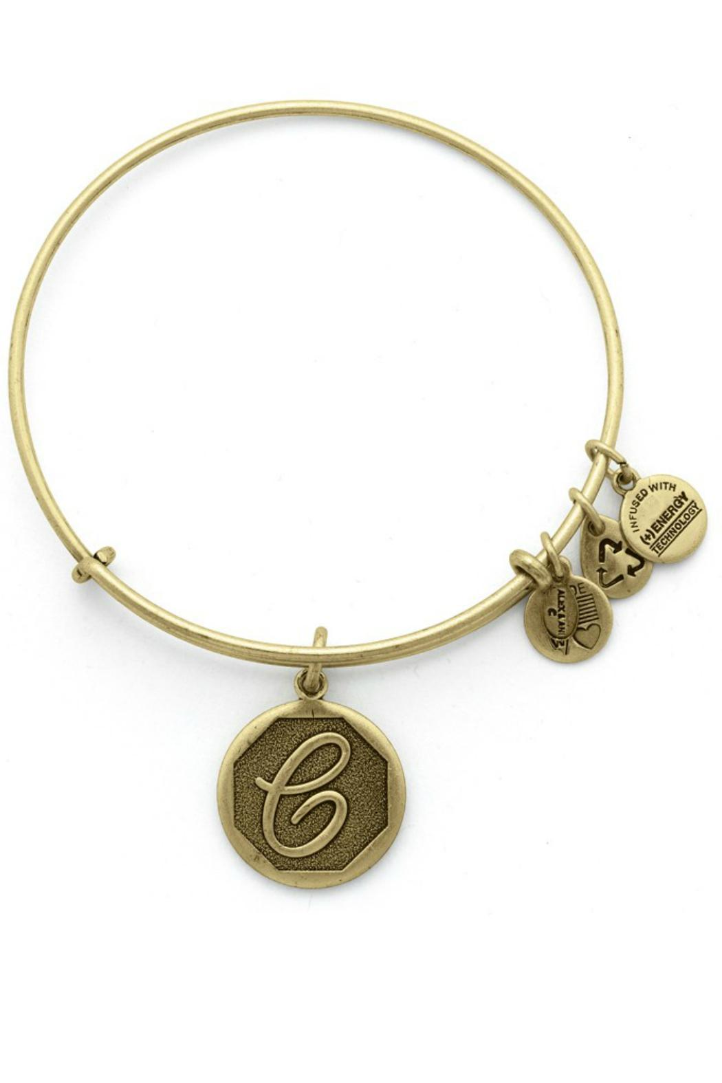 Alex and Ani Initial C Bangle - Front Cropped Image