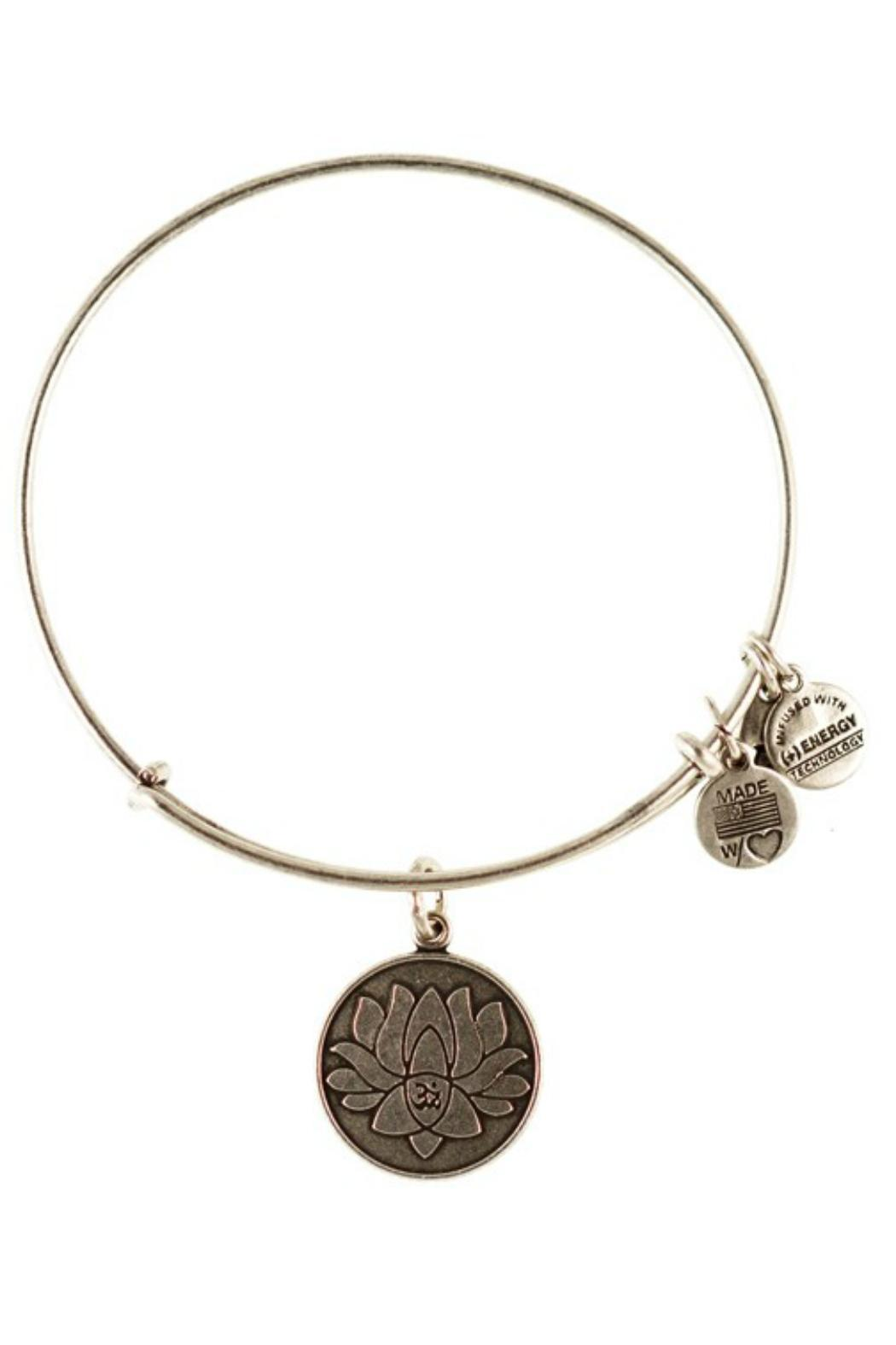 """Alex and Ani Alex And Ani """"Lotus Peace"""" Bracelet - Front Cropped Image"""