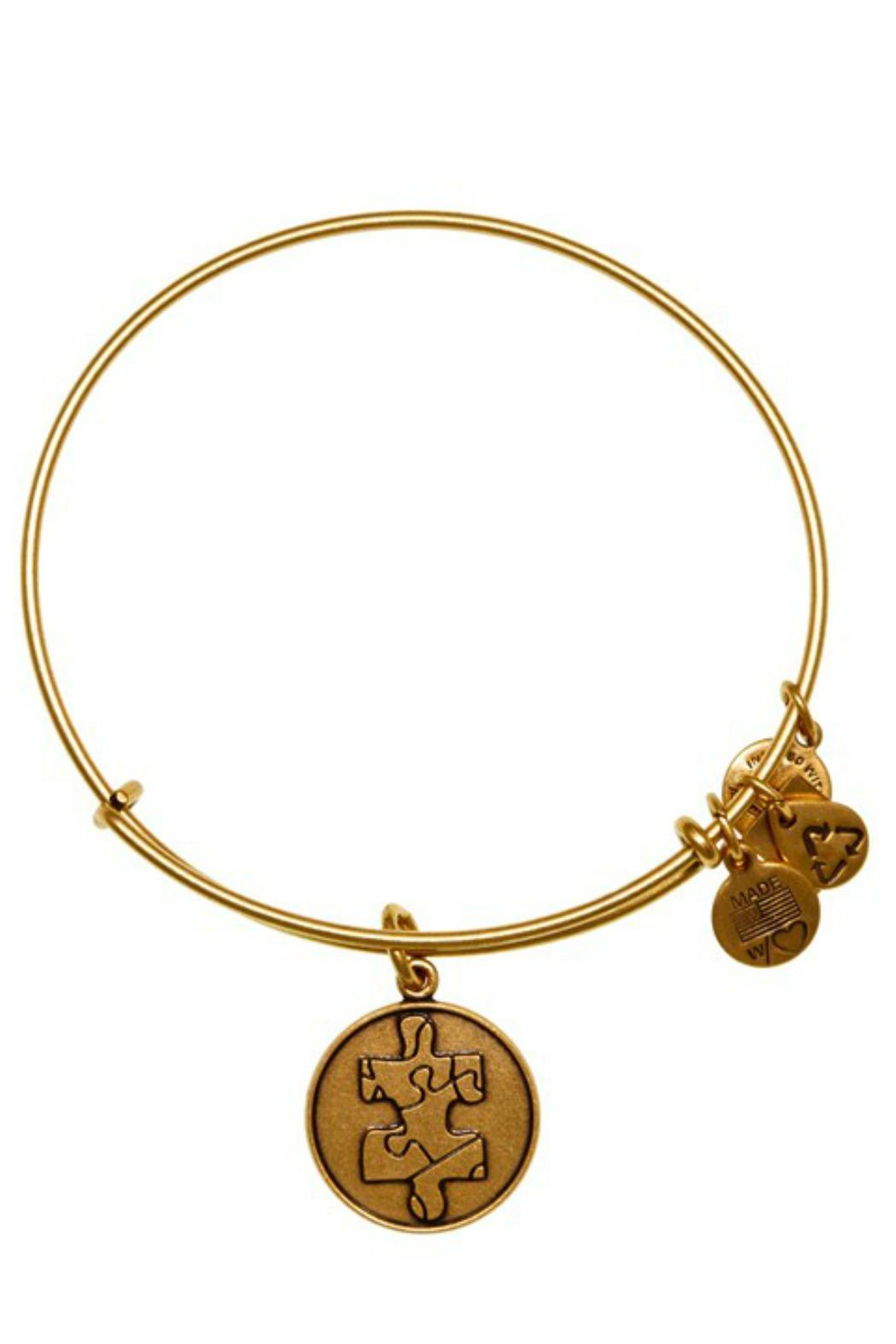 "Alex and Ani Alex And Ani Charity ""Autism"" Piece Of The Puzzle  Bracelet - Main Image"