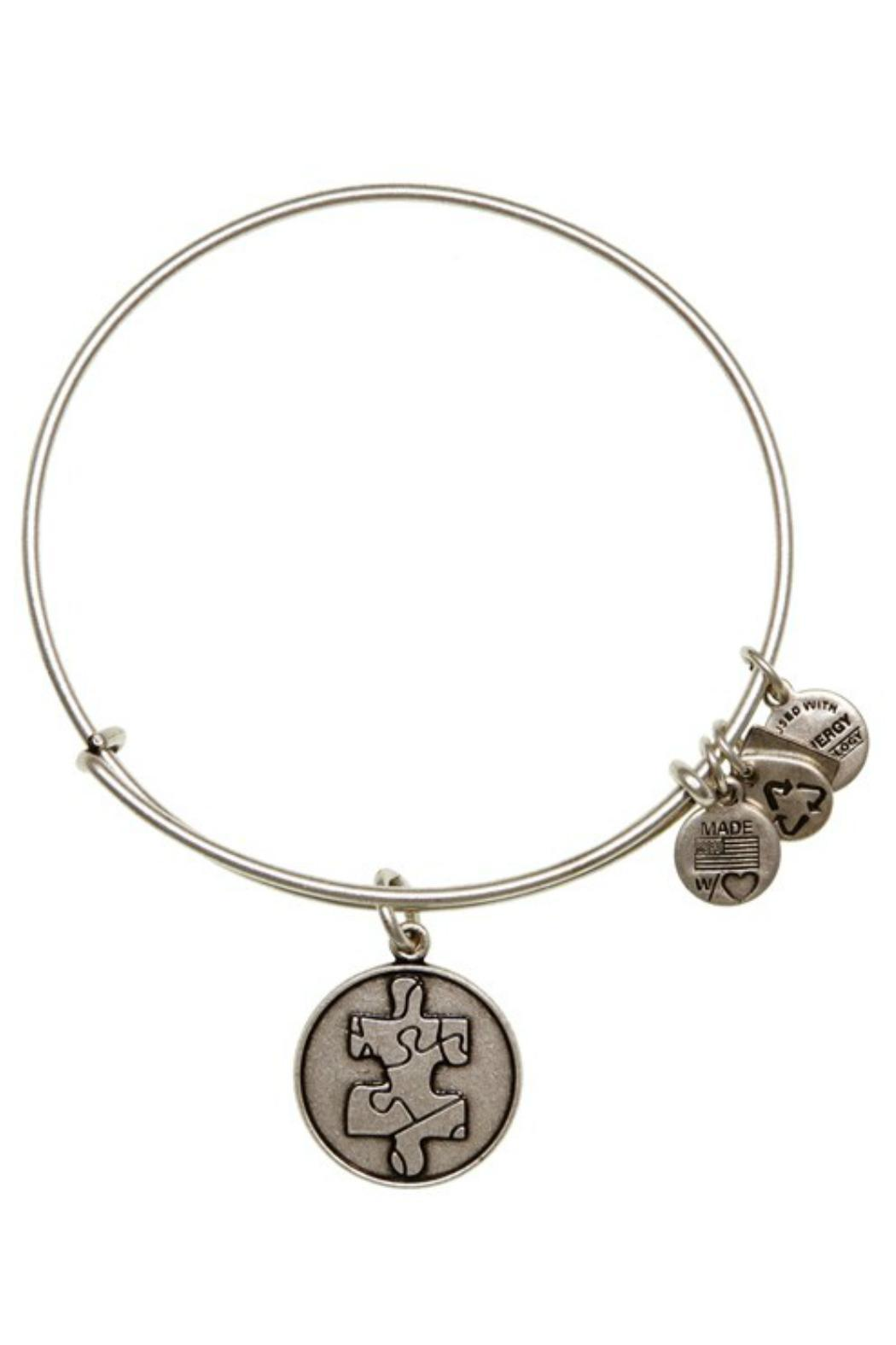 "Alex and Ani Alex And Ani Charity ""Autism"" Piece Of The Puzzle  Bracelet - Front Cropped Image"