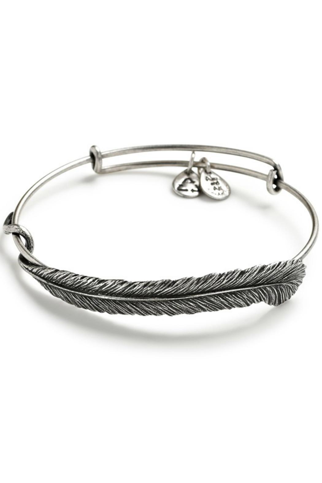 Alex and Ani Plume Feather Wrap - Front Cropped Image