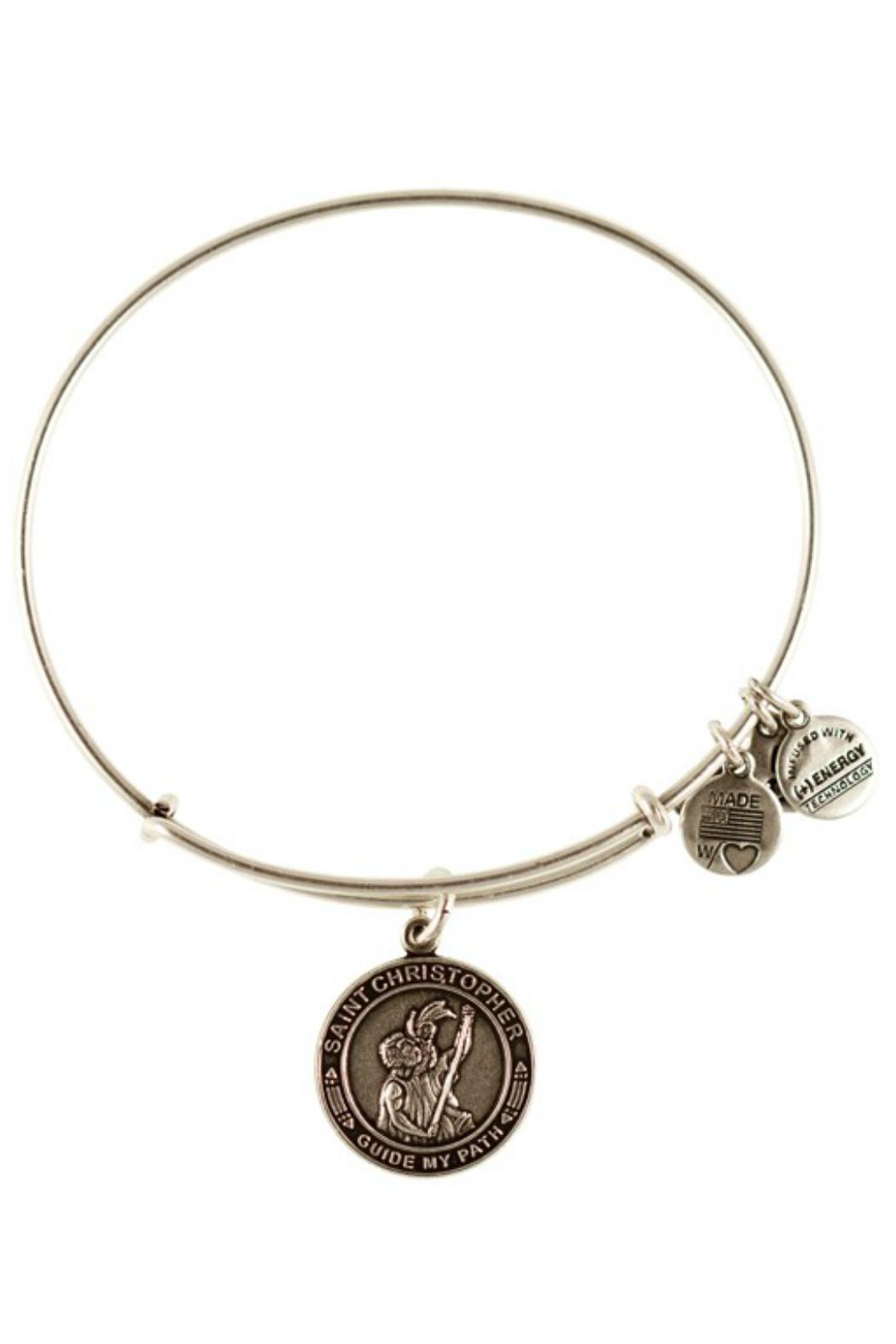 """Alex and Ani Alex And Ani """"Saint Christopher"""" Bracelet - Front Cropped Image"""