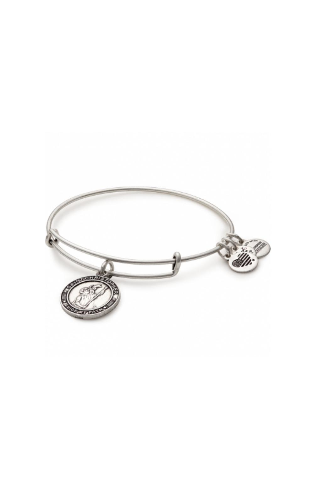 Alex And Ani Saint Christopher Bracelet Front Cropped Image