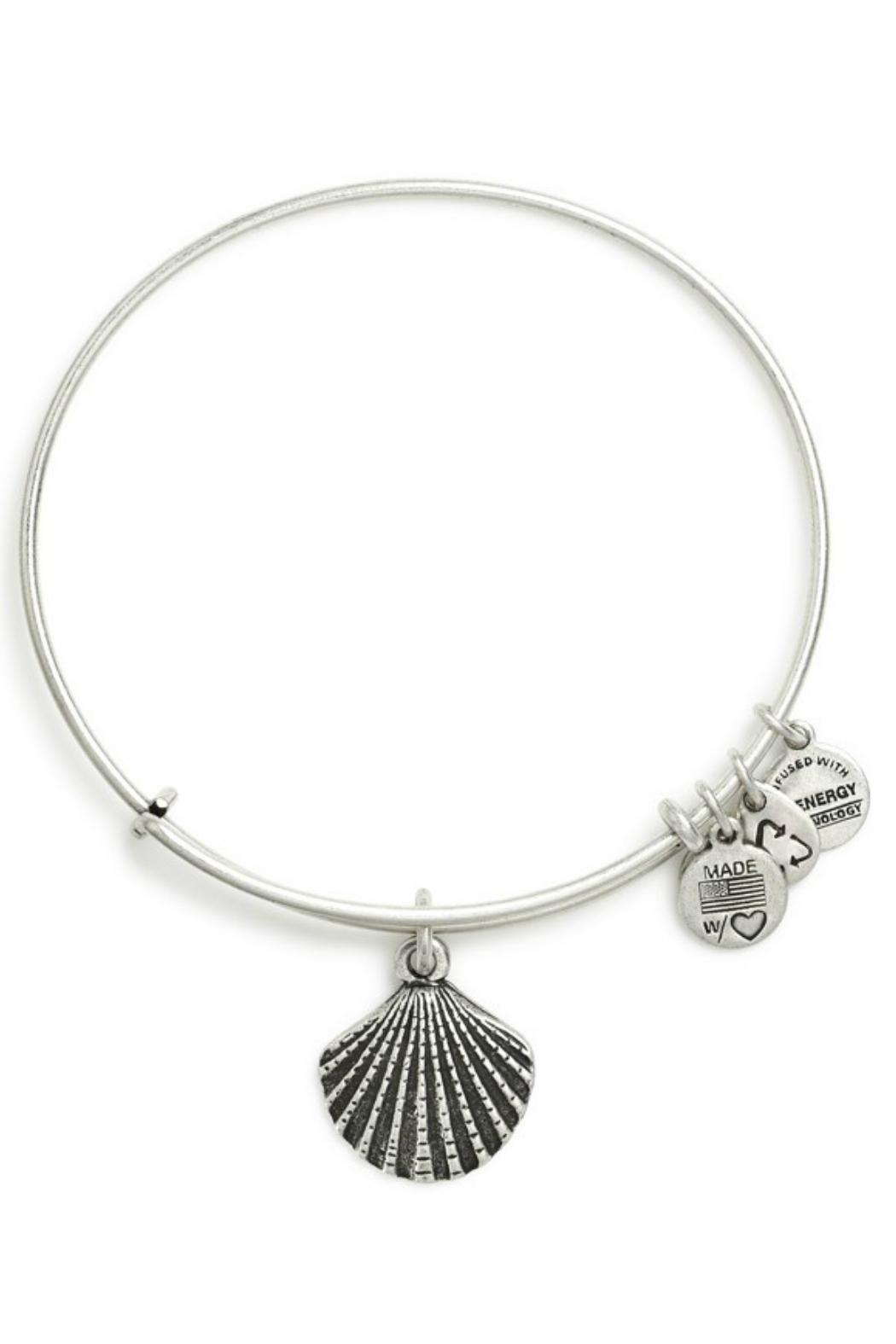 """Alex and Ani Alex And Ani """"Sea Shell"""" Bracelet - Front Full Image"""