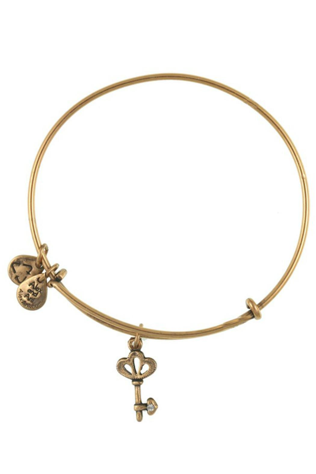 "Alex and Ani Alex And Ani ""Skeleton Key"" Expandable Bangle - Main Image"