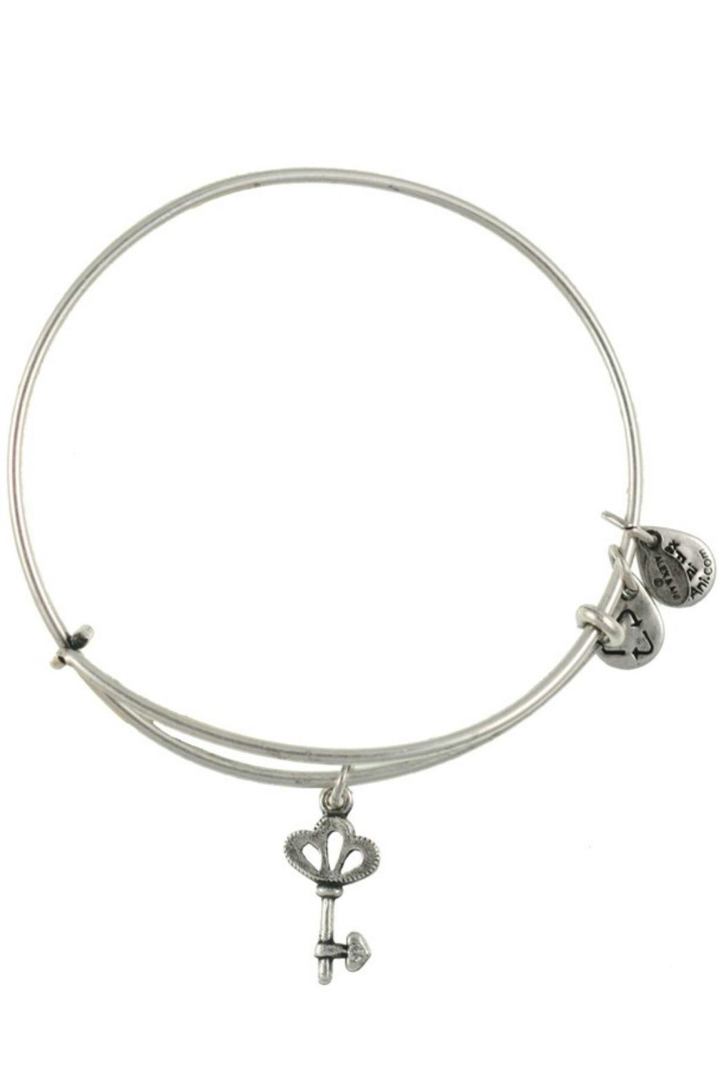 "Alex and Ani Alex And Ani ""Skeleton Key"" Expandable Bangle - Front Full Image"