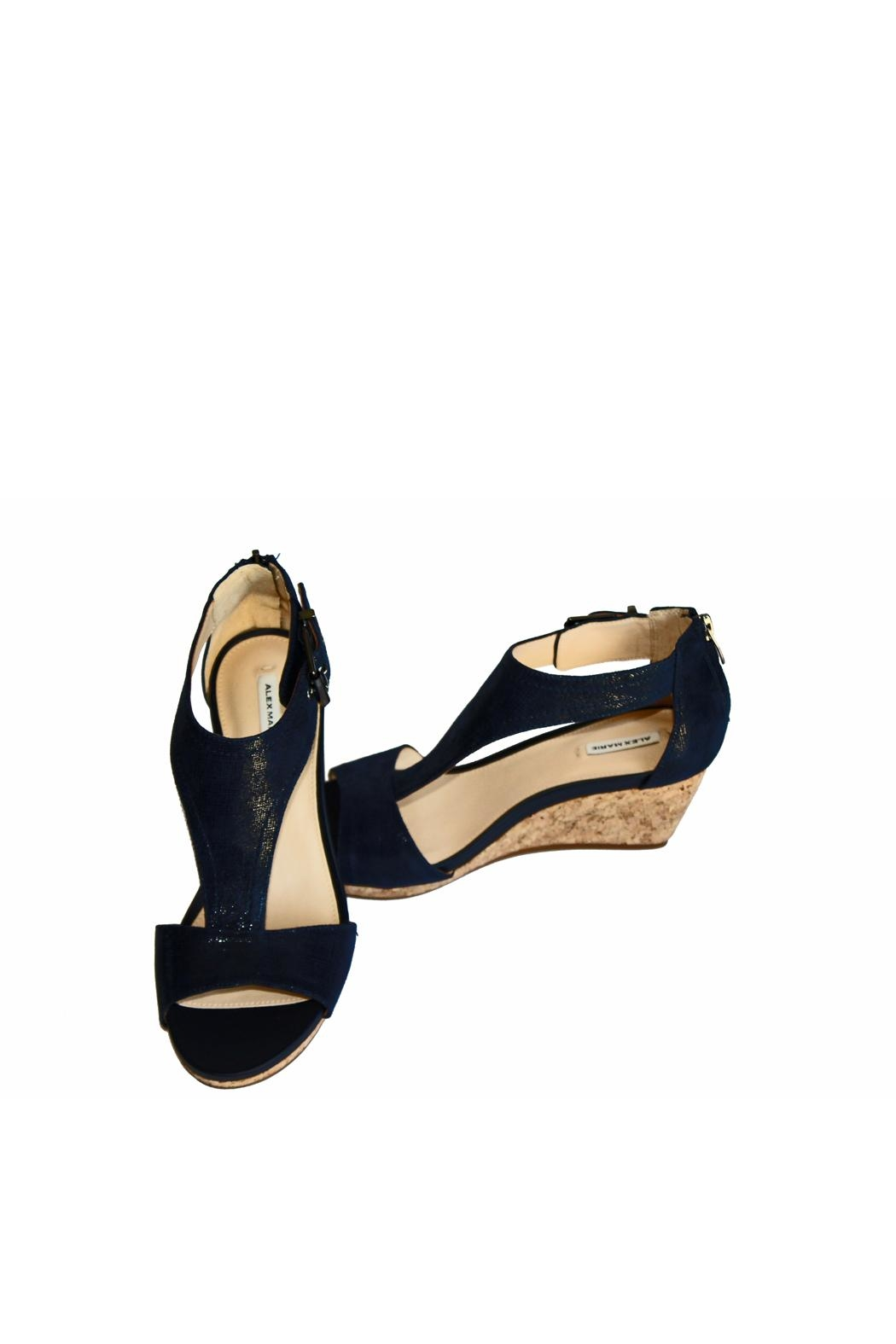 Alex Marie Illiana Leather Wedges - Front Cropped Image