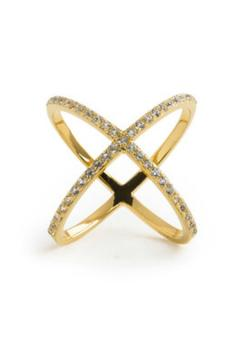 Alex Mika Criss Cross Ring - Product List Image