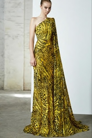 Alex Perry Rhett Leopard Gown - Product Mini Image