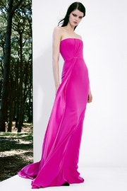 Alex Perry Satin Crepe Gown - Product Mini Image