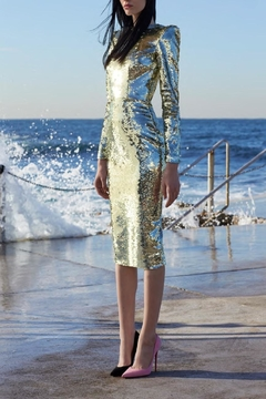 Alex Perry Sequin Elisa Dress - Product List Image