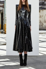 Alex Perry Sequin Ruffle Dress - Product Mini Image