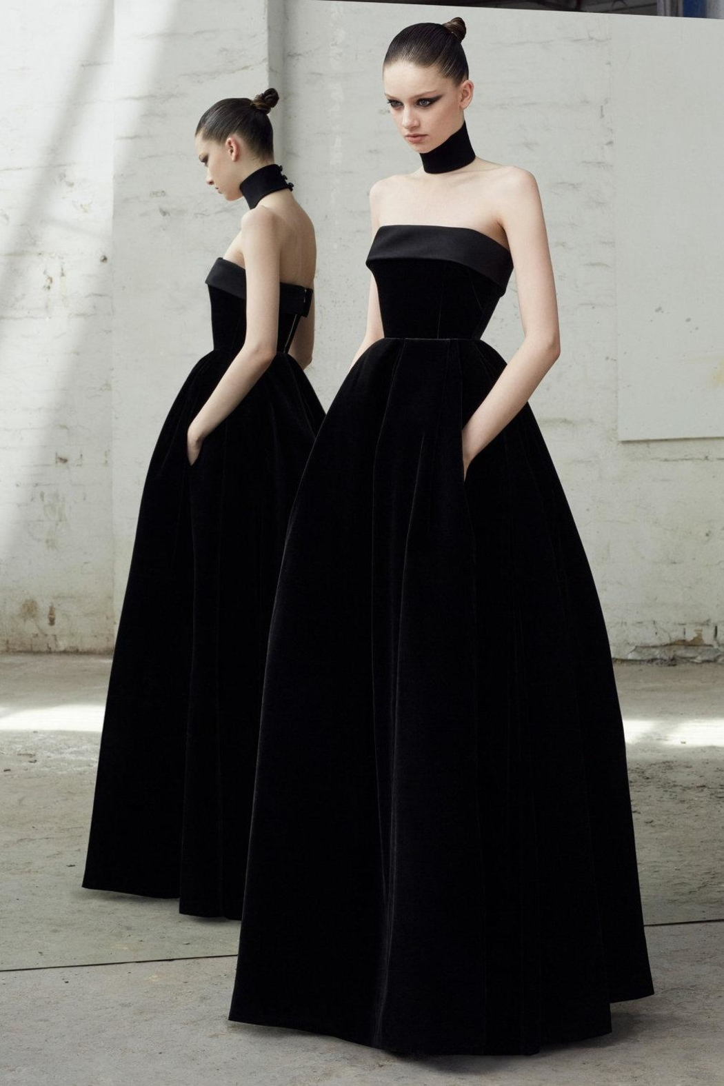 Alex Perry Strapless Velvet Gown from New Jersey by District 5 ...