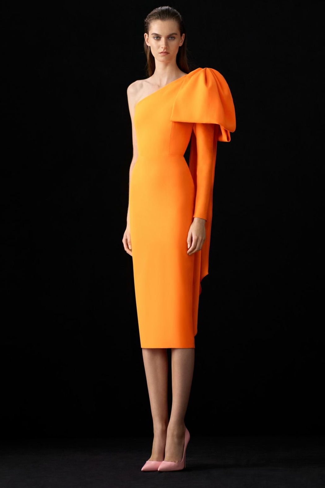 Alex Perry Wade One-Shoulder Dress - Main Image