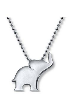 Alex Woo Silver Elephant Necklace - Product List Image