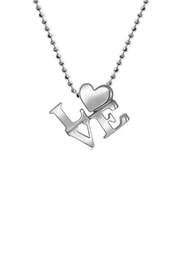 Alex Woo Silver Love Necklace - Product Mini Image