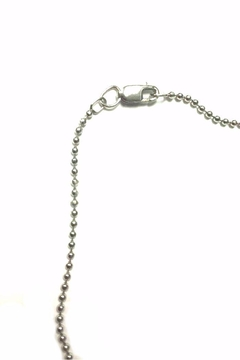Alex Woo Silver Love Necklace - Alternate List Image