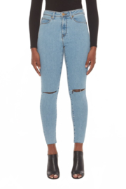 Lola Jeans Alexa Skinny High Rise Jeans - Front cropped