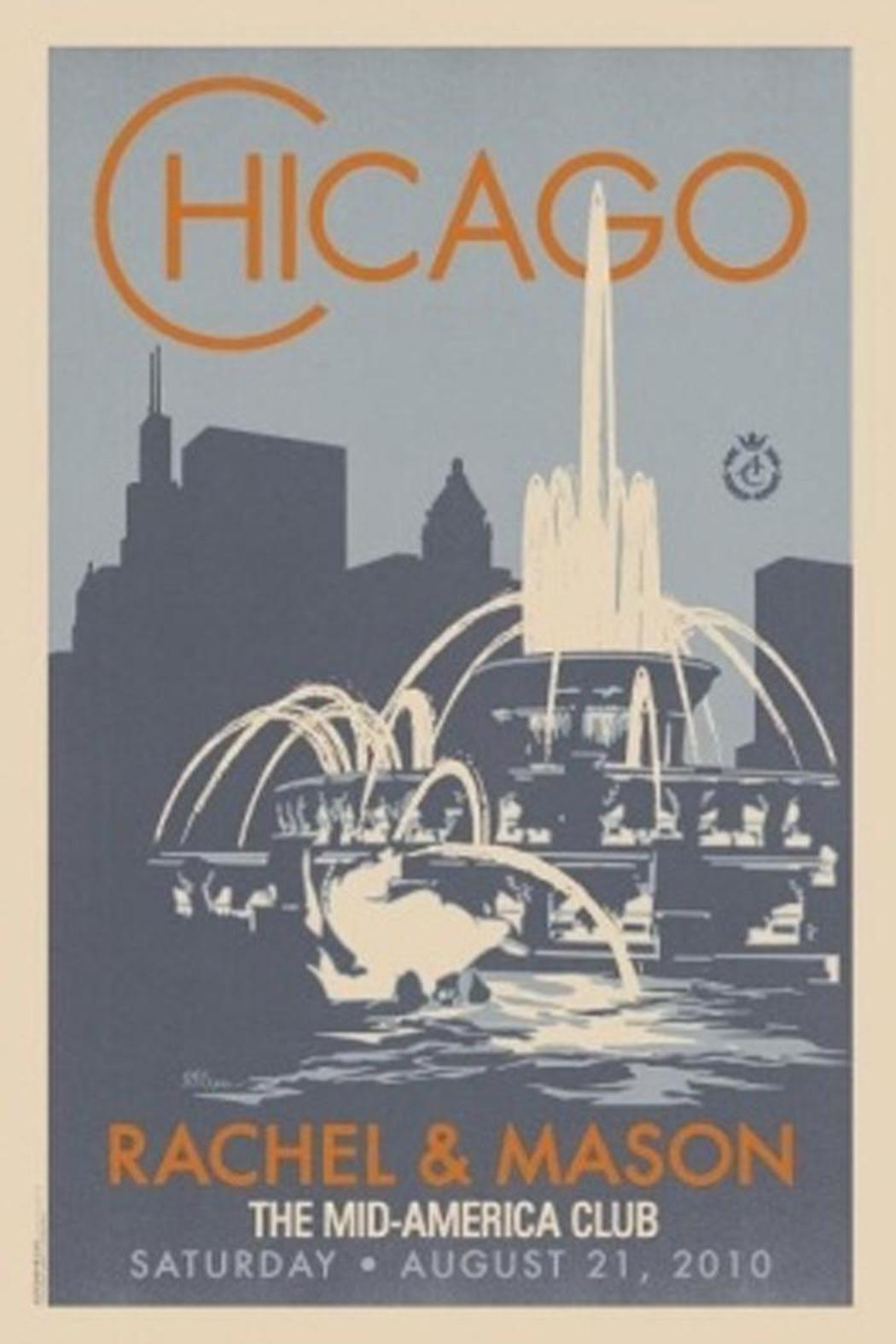 Alexander & Co. Buckingham Fountain Poster - Front Cropped Image