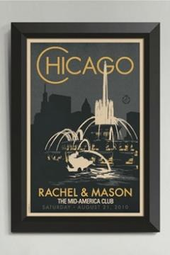 Shoptiques Product: Buckingham Fountain Poster