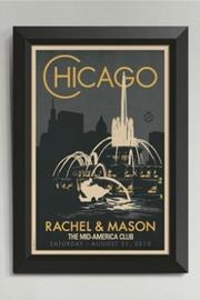 Alexander & Co. Buckingham Fountain Poster - Front cropped