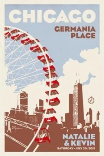 Alexander & Co. Ferris Wheel Poster - Main Image