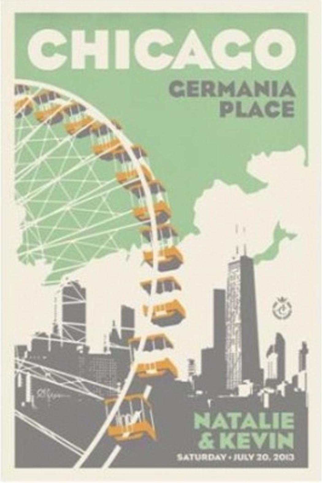 Alexander & Co. Ferris Wheel Poster - Front Cropped Image