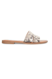 Steve Madden Shoes Alexandra Snake Slide - Product Mini Image