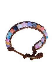 ALEXCINE Indian Glass-Bead Bracelet - Front full body