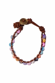 ALEXCINE Indian Glass-Bead Bracelet - Side cropped