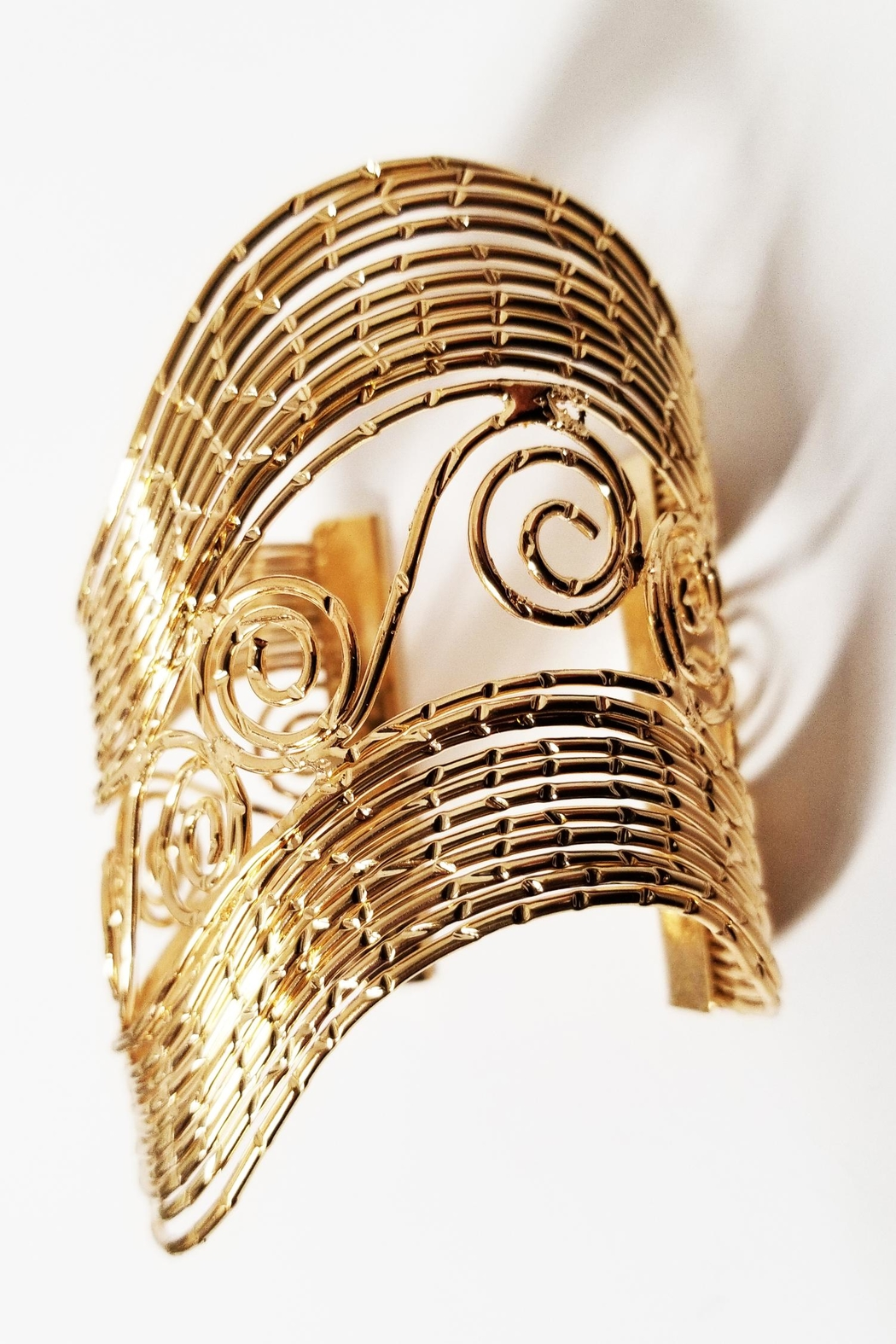 ALEXCINE Nile Statement Cuff - Front Cropped Image